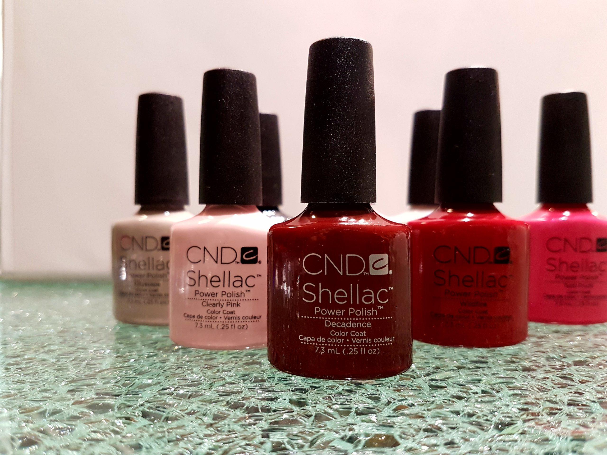 CND Shellac + mini manicure