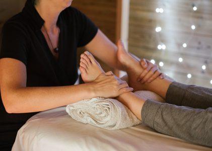 Peeling, masker en massage